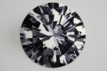 ROUND DIAMOND FLOOR RUGS